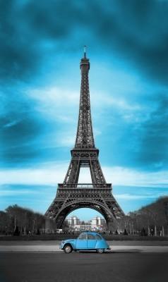Błękitny Paryż