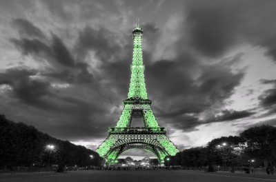 Limonkowa Wieża Eiffla
