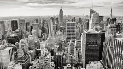 BG1406 Manhattan z lotu ptaka