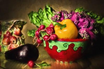 BG1550 Warzywa na sałatkę