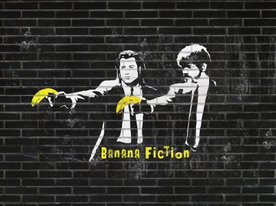 Banana Fiction Banksy