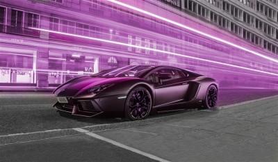 Fioletowe Lamborghini - Ben
