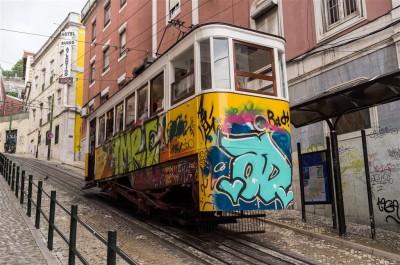 Lizboński tramwaj