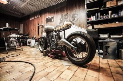 Renowacja zabytkowego motocykla