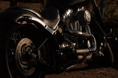 Klasyczny Harley Davidson