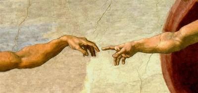Ręce Stworzenie Świata