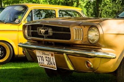 Ford Mustang Made in USA