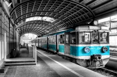 Turkusowy pociąg