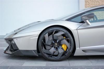 Srebrne Lamborghini