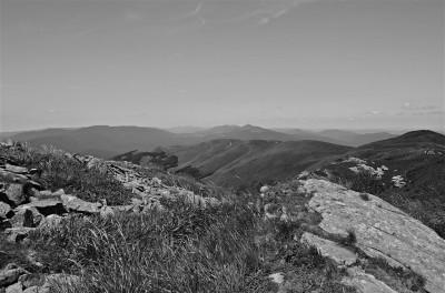 Góra w Bieszczadach