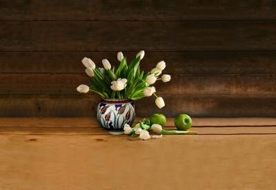 Tulipany w porcelanie