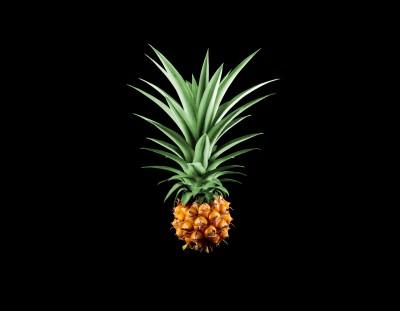 Smaczny ananas ma mało cukru