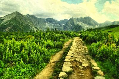 Słoneczny dzień w Tatrach