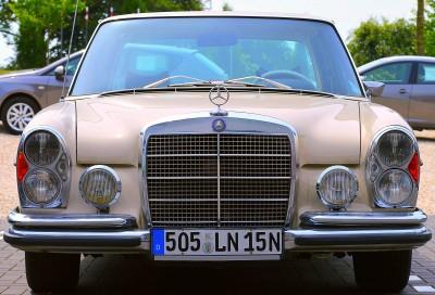 Oldtimer Mercedesa