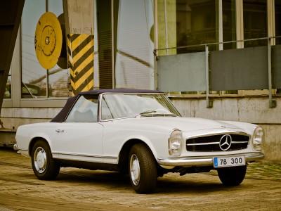 Kabriolet Mercedesa
