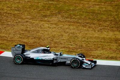Wyścigówka Mercedes