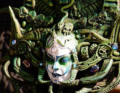 Karnawałowa maska wenecka