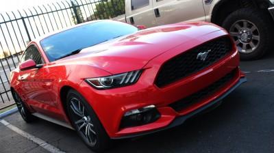 Czerwony Mustang
