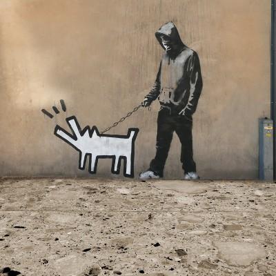 Szczekający pies