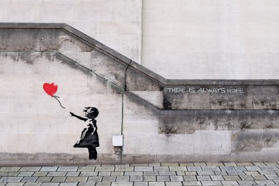 Banksy There is always hope