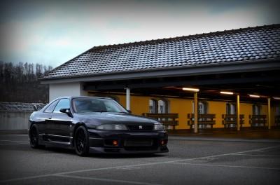 Sportowy Nissan GTR