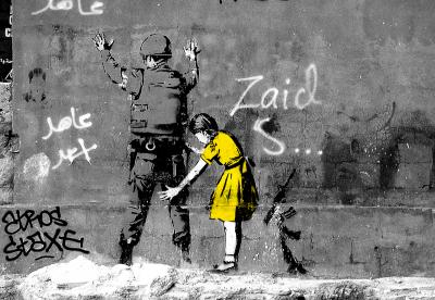 Banksy Dziewczynka
