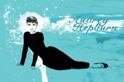 Postać Audrey Hepburn