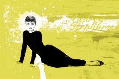 Audrey Hepburn cała postać