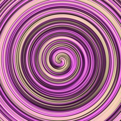Fioletowa wirówka z kremem