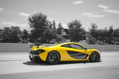 Yellow McLaren P1 - Axion23
