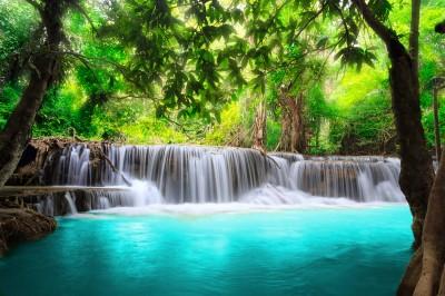 Wodospad w Azji