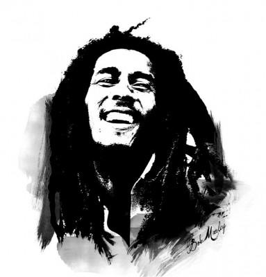 Muzyk Bob Marley