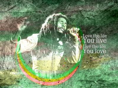 Bob Marley na koncercie