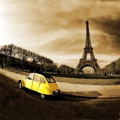 Żółta kaczka - Citroen 2CV