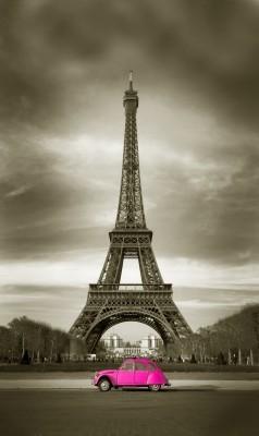 Wieża Eiffla w sepii