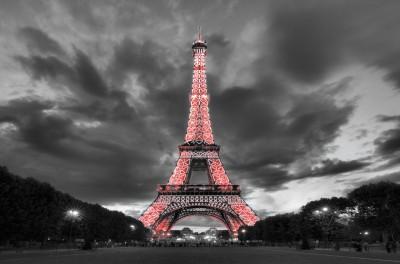Czerwona Wieża Eiffla