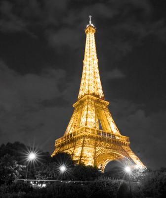 Złota Wieża Eiffla