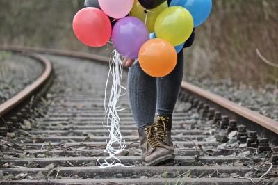 BG1484 Spacer z balonami