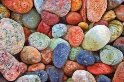 BG1498 Kolorowe kamienie