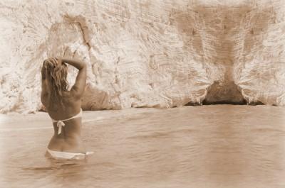 BG1518 Laska w kąpieli