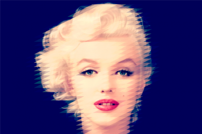 Śliczna Marilyn Monroe