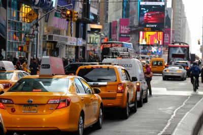 BG1520 Taksówki Nowego Jorku