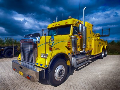 BG1535 Żółty holownik ciężarówek