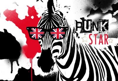 Zebra Punk Star