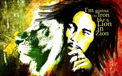 Bob Marley Lion in ZION