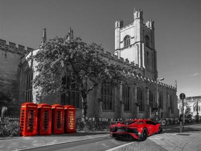 Lamborghini w Oxfordzie