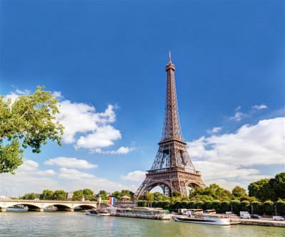 Francja Paryż Wieża Eiffla