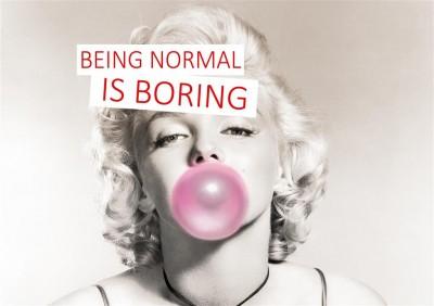 Marilyn Monroe Normalność jest nudna