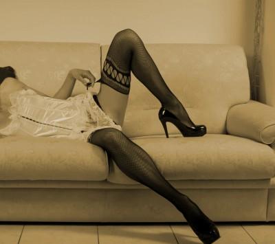 Kobieta w szpilkach