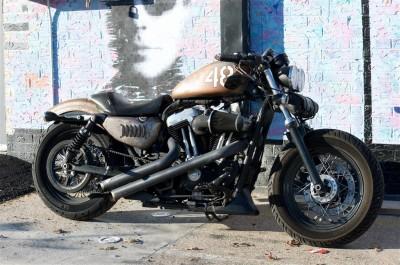 Potężny motocykl